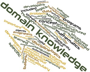 Word cloud for Domain knowledge