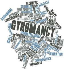 Word cloud for Gyromancy