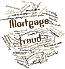 Word cloud for Mortgage fraud