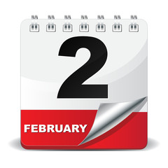 2 FEBRUARY ICON