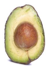 Inside of an avocado