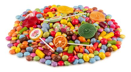 Autocollant pour porte Confiserie sweets