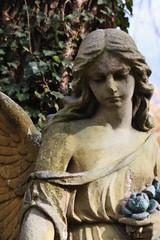 Figure Of A Praying Angel