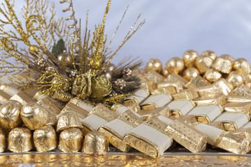 Festive chocolate display