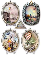 Four fabulous  landscapes