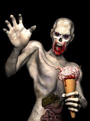 Zombie Brain Cream Cone 1
