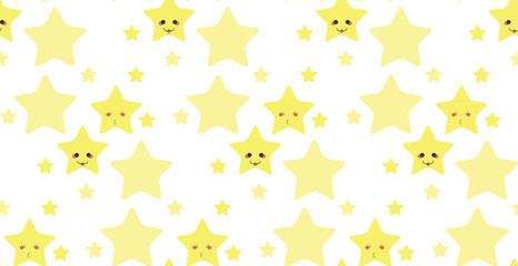 Funny stars pattern