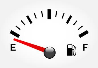 White gas tank illustration