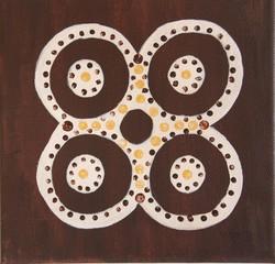 Adinkra-Symbol für Weisheit und Wissen