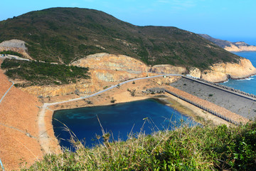Hong Kong Geo Park , High Island Reservoir