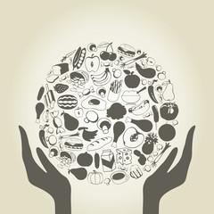Hand food
