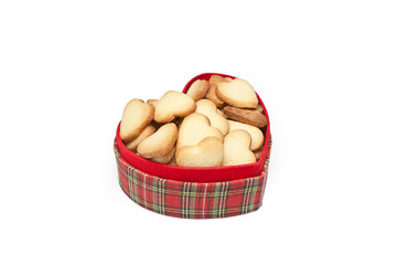 Valentine's Day box full of cookies
