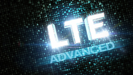 LTE Advanced highspeed konzept