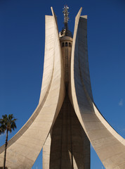 Wall Murals Algeria Mémorial du martyr