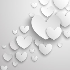 Wall Mural - Valentine`s Day abstract background.