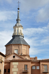 Dome of Convent of Augustinian nuns, Alcala de Henares (Madrid)