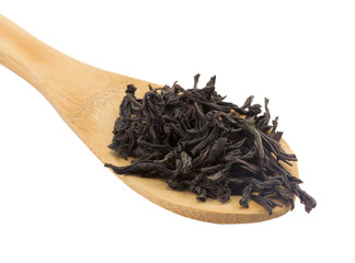 wooden spoon black Tea