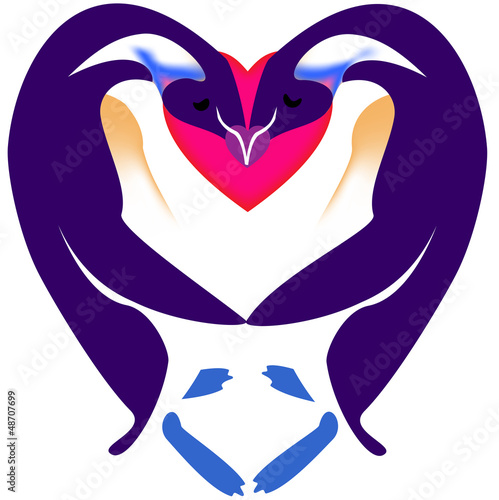 Love Symbol Soulmate Heart Vector Stock Image And Royalty Free