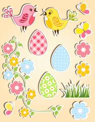 Easter design element. Vector illustration.