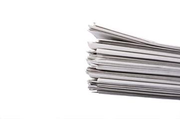 Stapel von Zeitungen