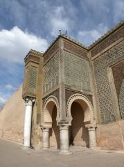 Stadttor Bab Mansour in Meknes