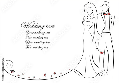 wedding clipart black and white free download - photo #44