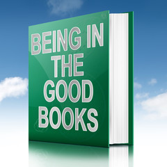 The good books concept.