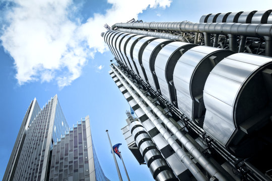 Lloyd's and Willis Building, London.