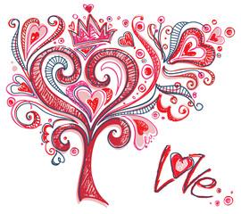 Original tree of love.