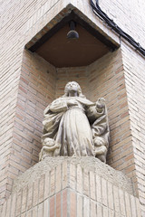 Sculpture of holy