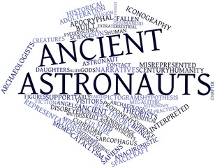 Word cloud for Ancient astronauts