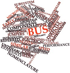 Word cloud for Bus
