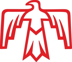 Donnervogel - Thunderbird - Native Americans