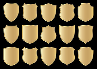 shield design set