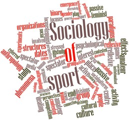 Word cloud for Sociology of sport