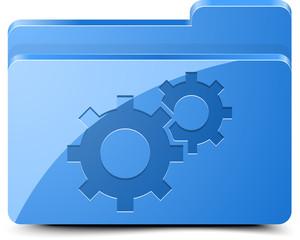 Gear folder