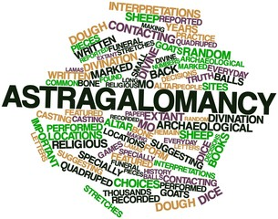 Word cloud for Astragalomancy
