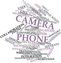 Word cloud for Camera phone