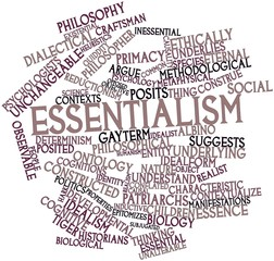 Word cloud for Essentialism