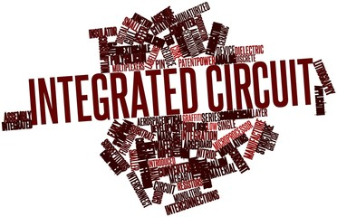 Word cloud for Integrated circuit