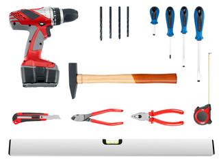 Werkzeugcollage groß