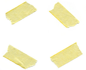 Pieces of Masking Tape