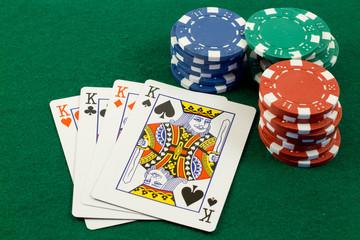 poker di re