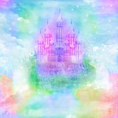 Magic Fairy Tale Princess Castle
