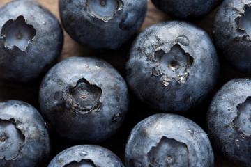 Blueberries closeup (macro)