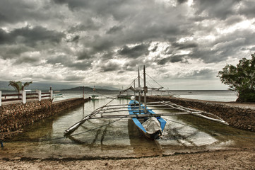 A fishing boat from Philippines