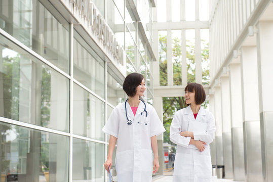 south east asian female doctors