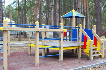Foto op Aluminium Poolcirkel Playground