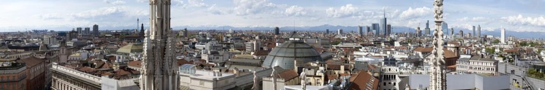 Keuken foto achterwand Milan View of Milan