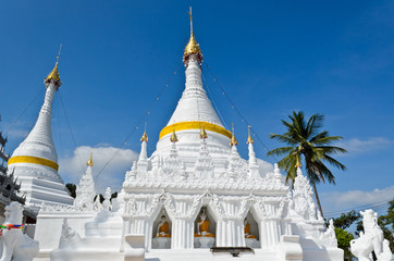 Wat Phra That Doi Kong Mu Temple, Thailand..